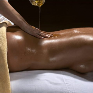 Massage huile corps complet